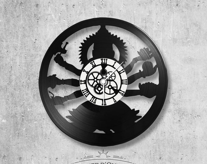 Vinyl 33 clock towers theme Shiva India Buddha
