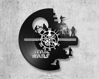 Vinyl 33 clock towers theme Star Wars death star