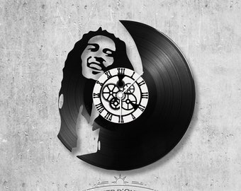 Vinyl 33 clock towers Bob Marley theme