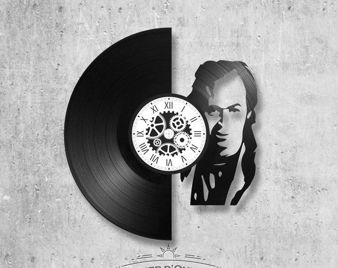 33-round vinyl record clock JJ Goldman theme