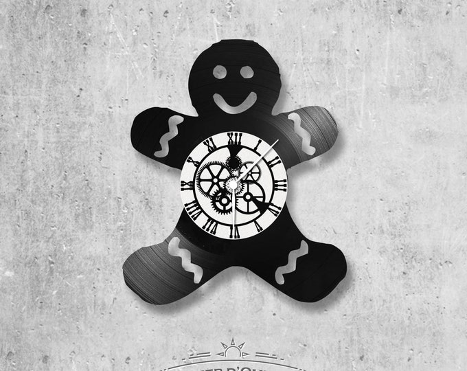 Vinyl 33 clock towers theme cookie