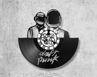 Vinyl 33 clock towers Daft Punk theme