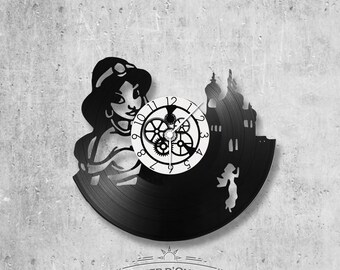 Vinyl 33 clock towers Aladdin theme