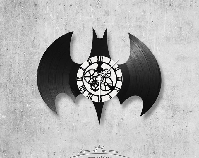 Vinyl 33 clock towers Batman logo theme
