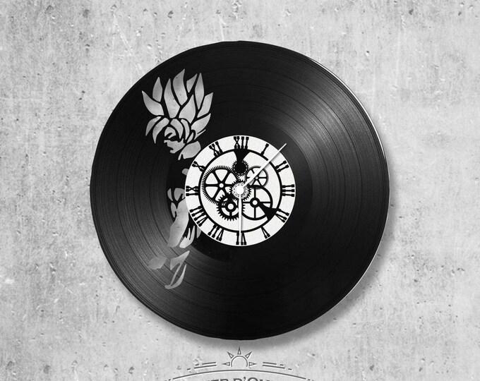 Vinyl 33 clock towers theme Dragon Ball z Son Goku
