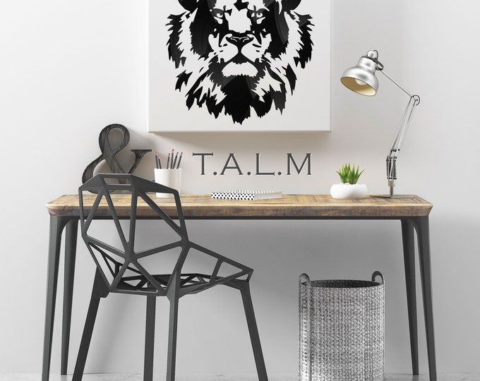 Web - table cutting records vinyl Lion