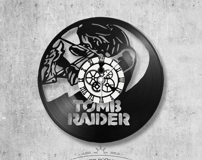 Vinyl 33 clock towers theme Tomb Raider