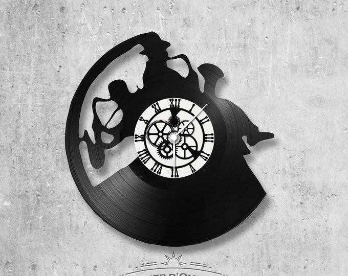 Vinyl 33 clock towers theme Jazz duo