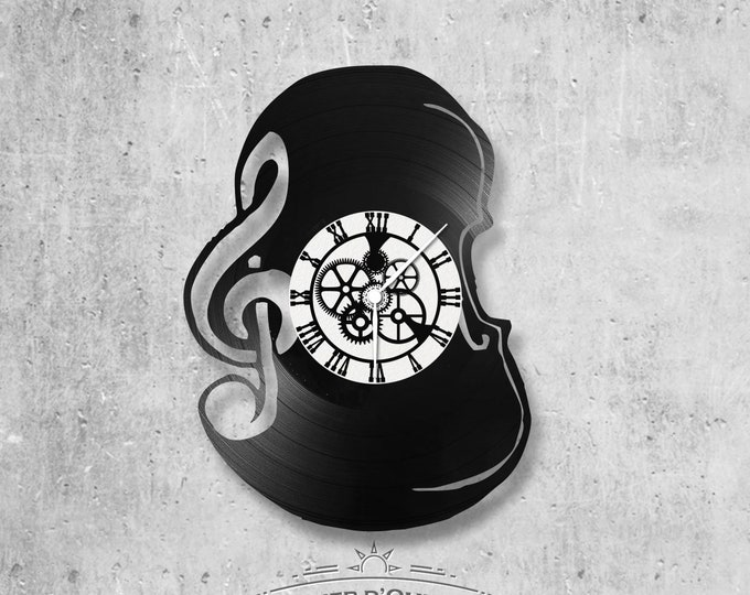Vinyl 33 clock towers theme violin