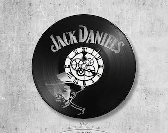 Vinyl 33 clock towers theme Jack Daniel's