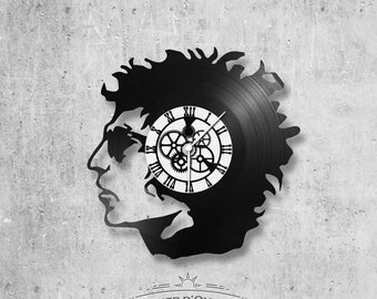 Vinyl 33 clock towers theme Bob Dylan