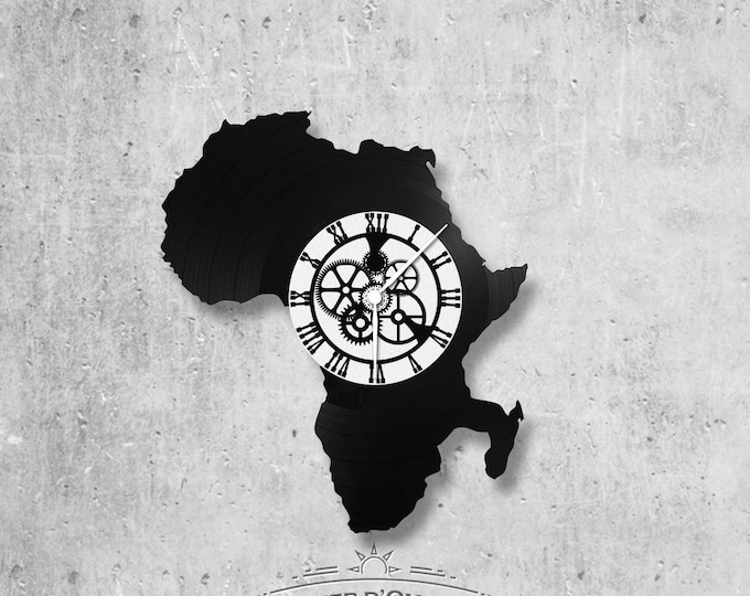 Vinyl 33 clock towers Africa theme