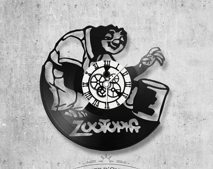 Vinyl 33 clock towers Zootopia theme