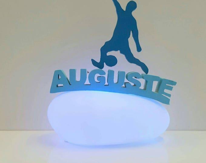 personalized Nightlight. Pebble bright 12cm