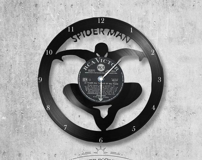 Vinyl 33 clock towers Spiderman theme