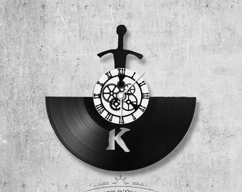 Vinyl 33 clock towers Kaamelott theme