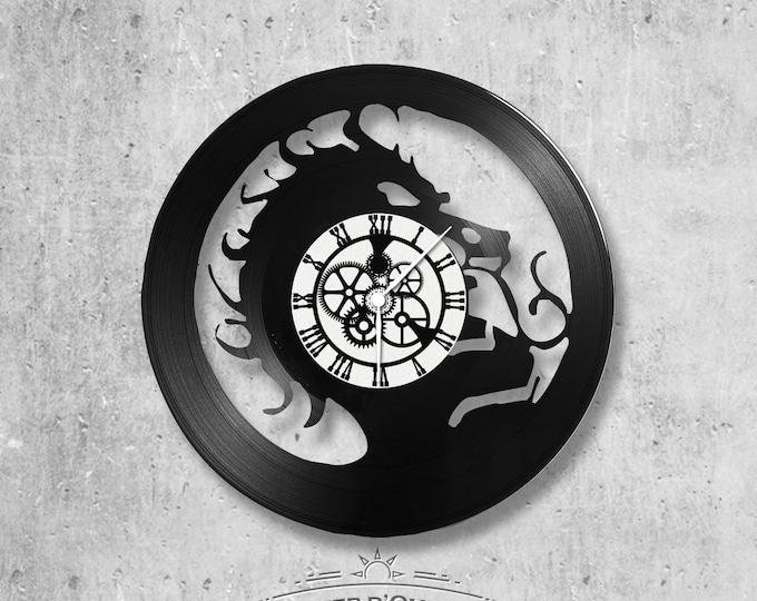 Vinyl 33 clock towers Dragon theme