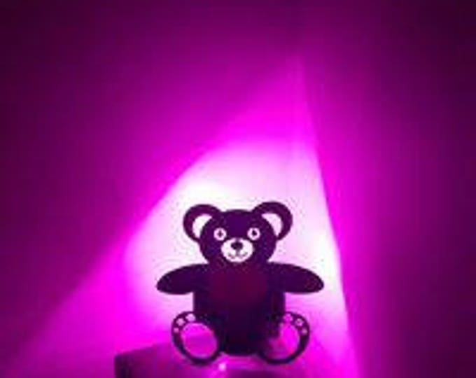 Vinyl Teddy bear night light