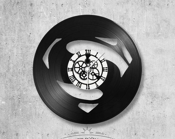 Vinyl 33 clock towers Superman theme
