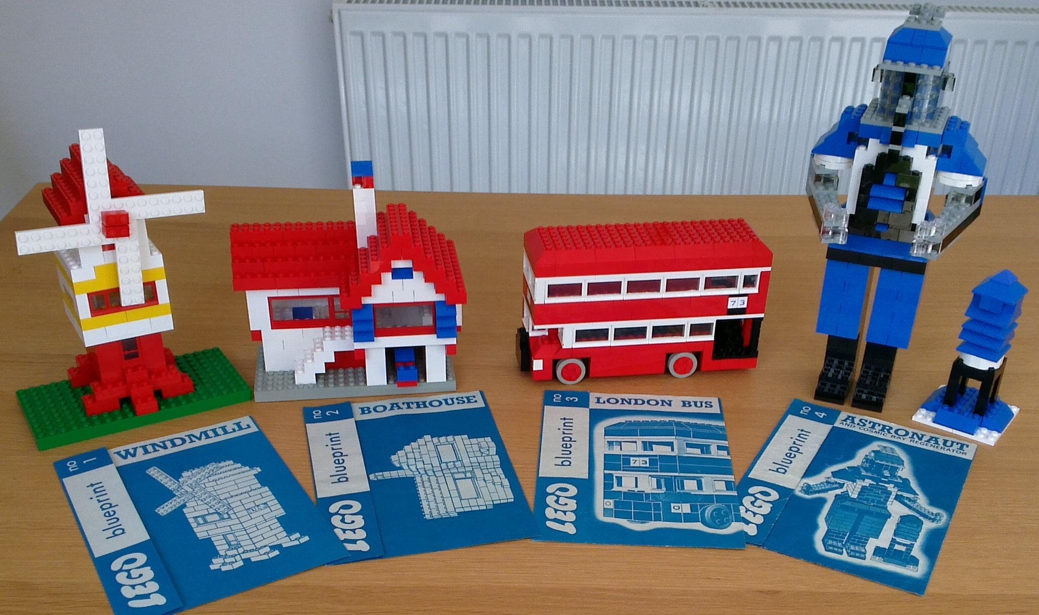 Lego blueprint full set no 1 4 original set from 1965 zoom malvernweather Gallery