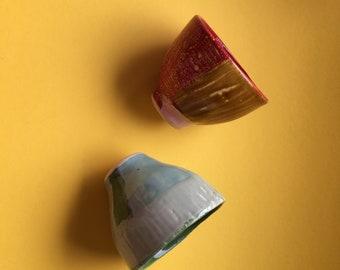 Unique ceramic cups