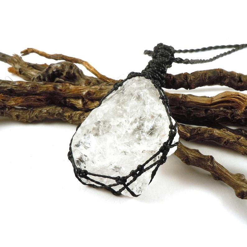 Master Healing master healer Quartz Jewelry Rough Quartz Gold Quartz Necklace Raw Clear Quartz Necklace April birthstone.