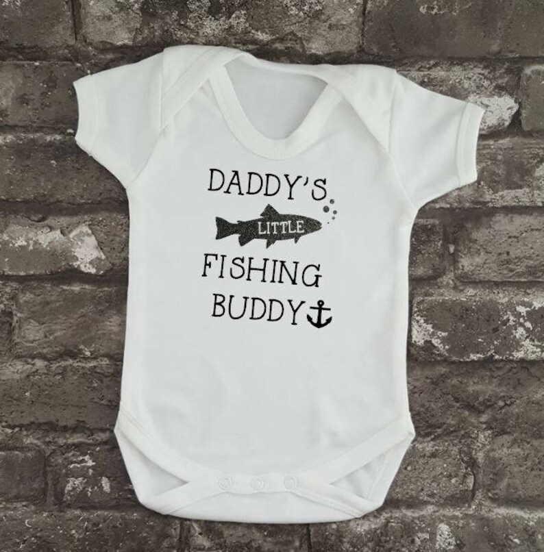 9c438d61 Fishing Baby Grow Father's Day Gift Baby Bodysuit | Etsy