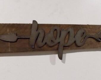 Hope on Wood