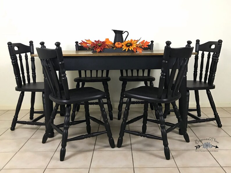 Awesome Sold Dining Table And 6 Chairs Rustic Timber Table 6 Dining Chairs Vintage Table Dining Set Timber Dining Chairs Beutiful Home Inspiration Xortanetmahrainfo