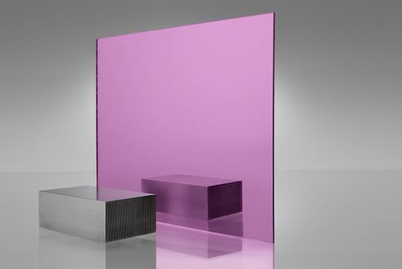 "1//8/"" Mirror Teal Cell Cast Acrylic Plexiglass #2120-12/"" x 12/"""
