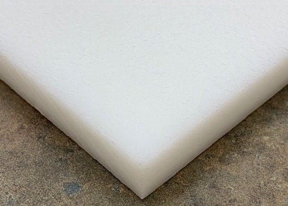 """HDPE Cutting Board 3//4/"""" Thick FDA//NSF You Pick The Size White Plastic"""