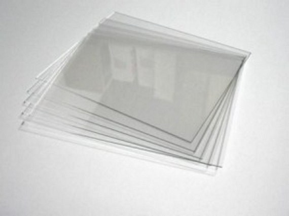 6 78 X 8 78 X 116 Thick Acrylic Sheets Etsy