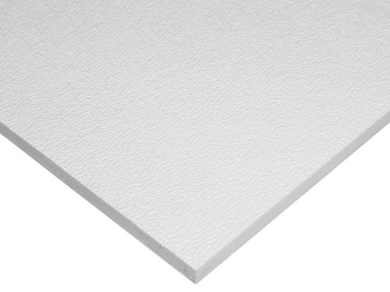 White Abs Plastic Sheet 1 16 X 24 X 24 Etsy