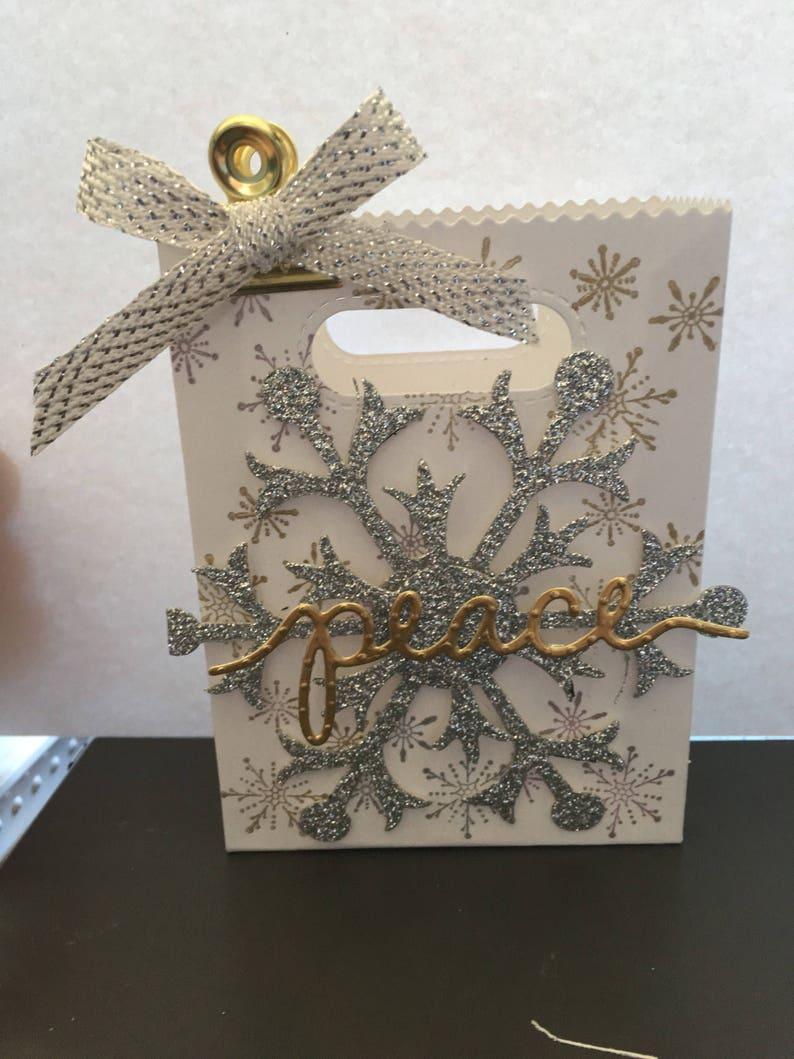 Joy treat box Joy Christmas favors Christmas treat box 10 ct
