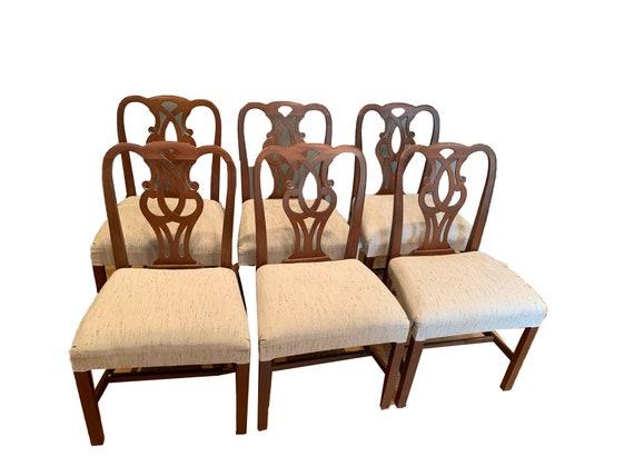 Stupendous Vintage Baker Dining Chairs 789 Evergreenethics Interior Chair Design Evergreenethicsorg