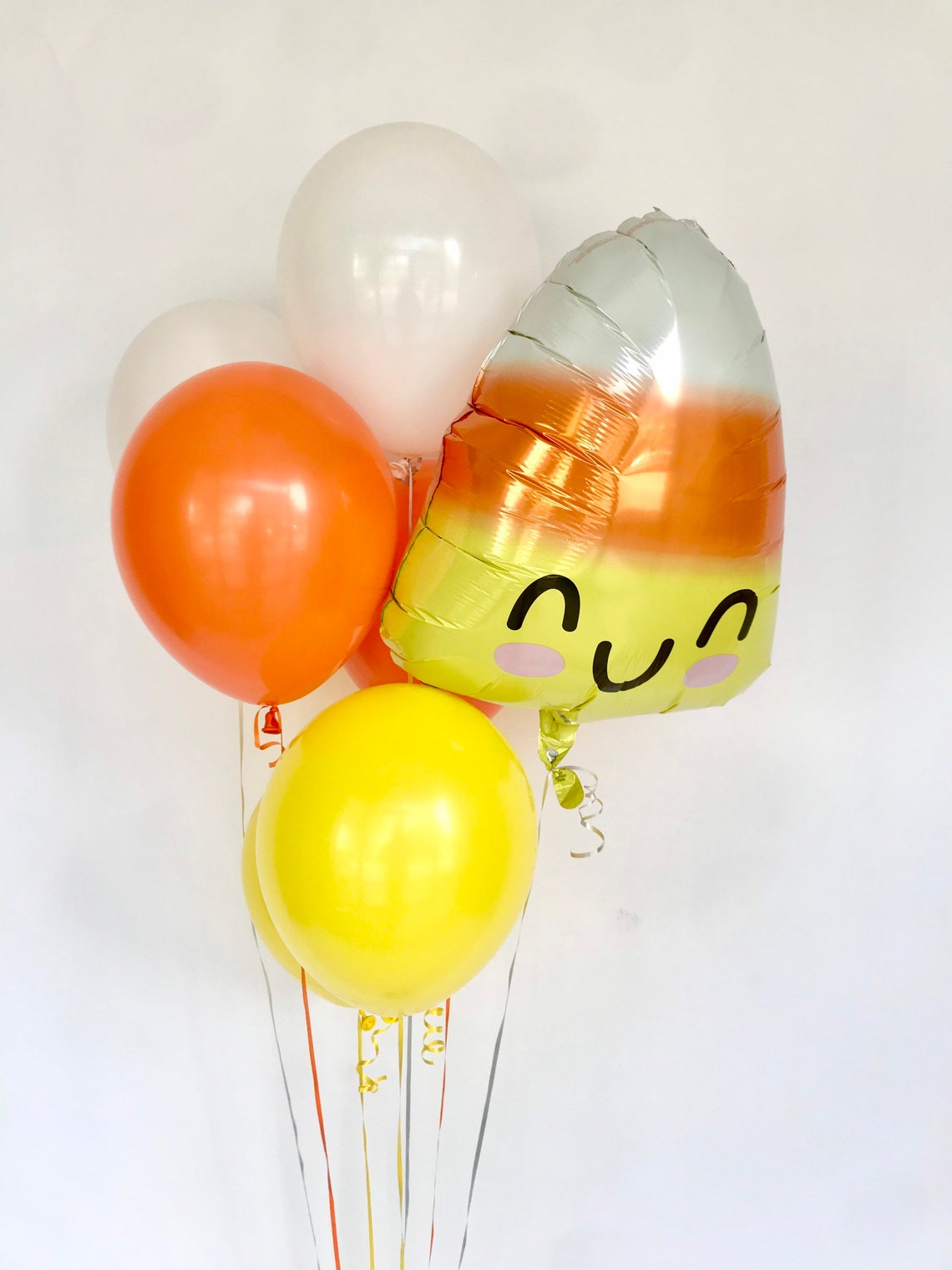 Halloween Balloons Yellow White Orange Candy Corn Balloon image 0