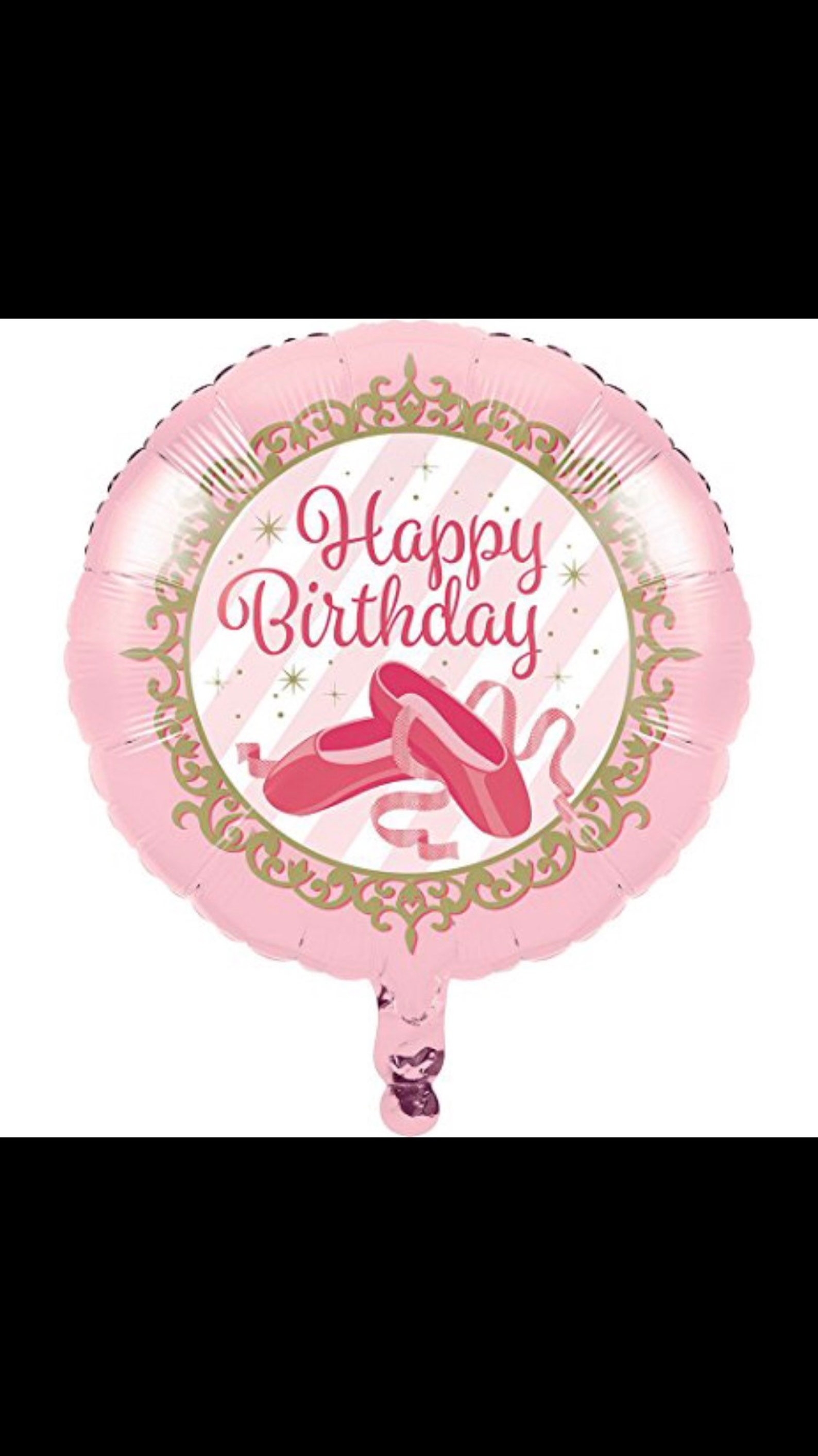 ballerina balloons, dancer balloons, ballet balloon, birthday balloons, ballerina party, ballet decorations, pink balloons, 18&q