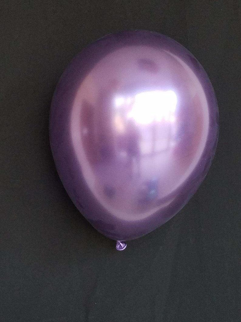 Chrome Balloons Blue Chrome 11 inch Balloons Mauve Chrome Gold Chrome Purple Chrome Green Chrome Silver Chrome