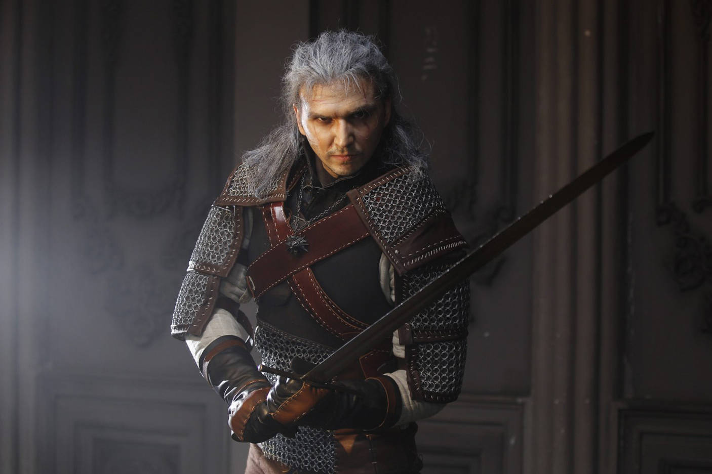 witcher 3 geralt cosplay costume for order leatherwork