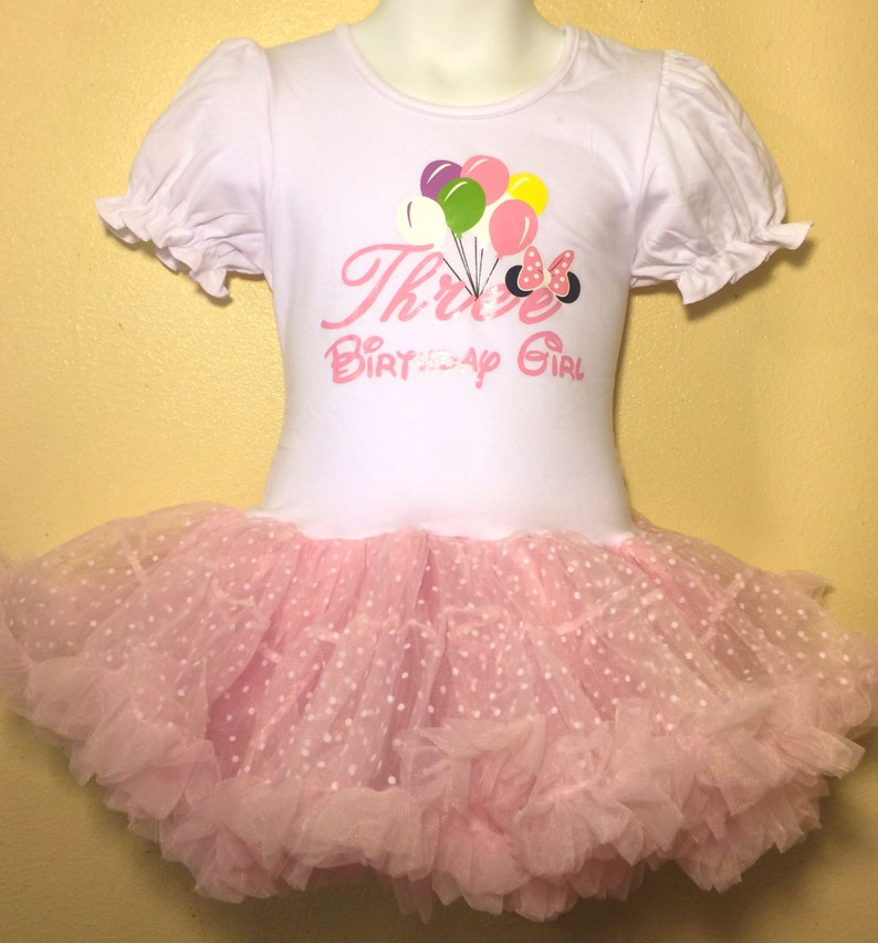 071d203e1 Minnie Mouse Birthday Dress 3 year old Pink Girl Baby Toddler