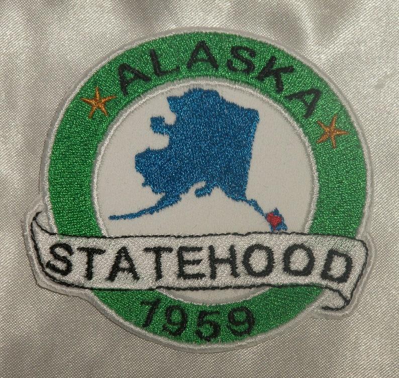 Embroidered Rhode Island State Pride Statehood RI Souvenir Patch Iron On Sew USA