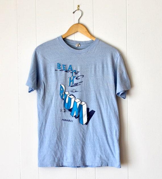1980s Beach Bum Hawaii T Shirt