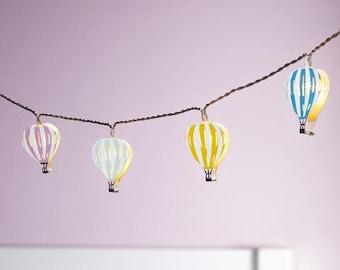 12 Hot Air Balloon Battery Children's Fairy Lights