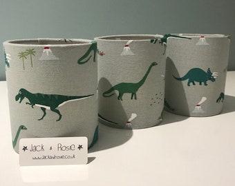 Dinosaur Fairy Light | Dinosaur Night Light | Safe Tea Light Operated | Sophie Allport Dinosaur Fabric