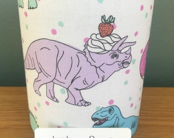 Tea Party Dinosaur Fairy Light | Dinosaur Night Light | Safe Tea Light Operated