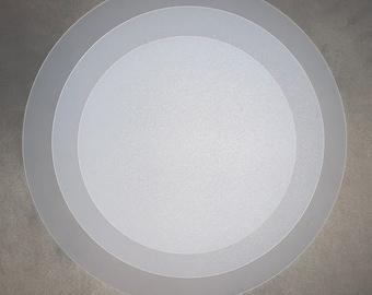 35cm | 40cm |Drum Lampshade Diffuser |  Translucent polypropylene