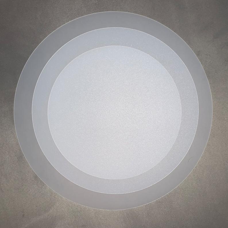 35cm  40cm Drum Lampshade Diffuser   Translucent image 0