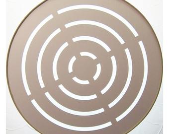 35cm | 40cm | Louvered Drum Lampshade Diffuser