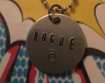 Rogue necklace or keyring X-Men