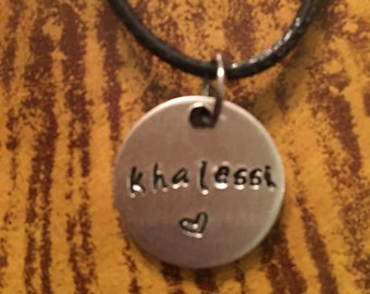 Khalessi necklace